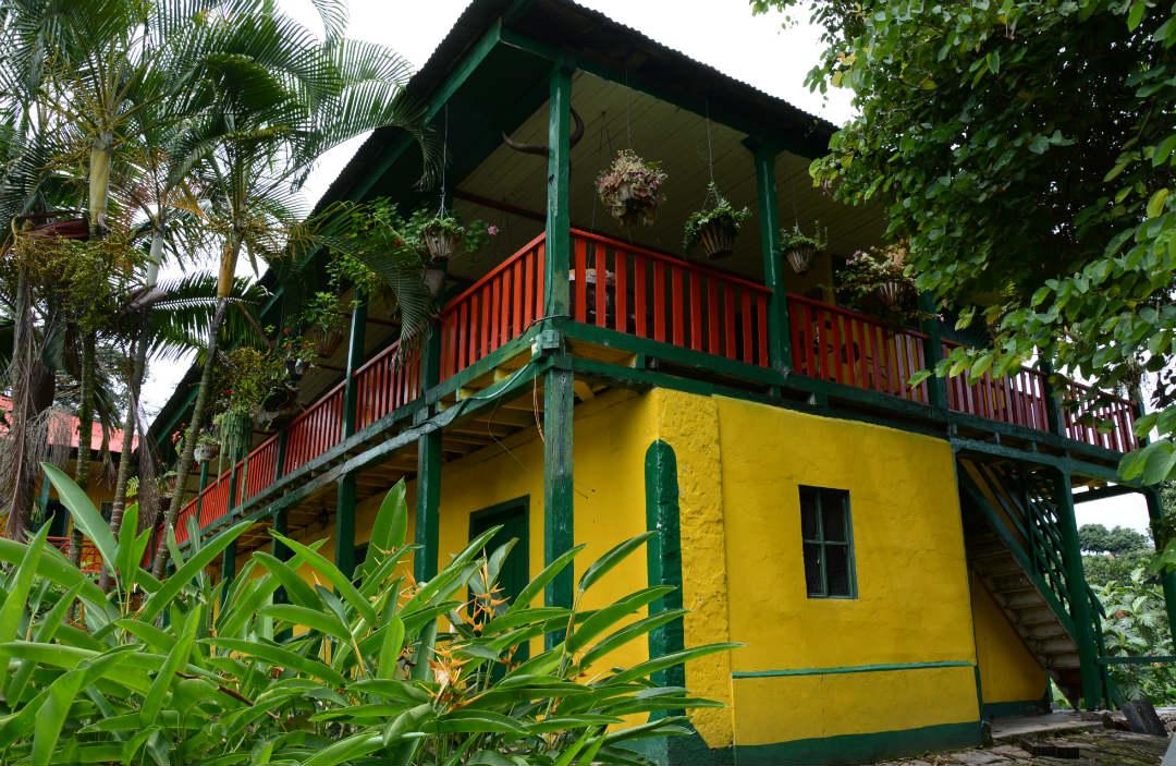 Hacienda Ceylan de Tour de Café, Ceylán, la primera hacienda industrial del café de Colombia